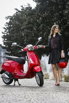 New 2016 Vespa Sprint 50 Motorcycles For Sale in Illinois,IL. 1 free year of road side assistance provided by Road America. Vespa Scooters, Motos Vespa, Lambretta Scooter, Motor Scooters, Yamaha Scooter, Vespa Sprint, Vespa Girl, Scooter Girl, Red Vespa