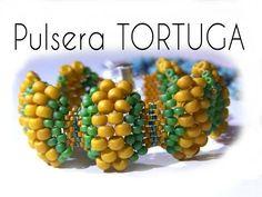 Abalorios - Tutorial Pulsera Tortuga - YouTube