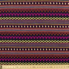 MIPN1512 Mexican Poncho Aztec Fabric Navy 112 cm