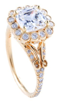 Erica Courtney Jesse ring. ♥✤ | Keep the Glamour | BeStayBeautiful