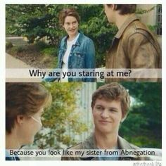 Anyone else think it is strange for them to do these two movies together.  The Fault in Our Stars/Divergent humor