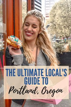Top 15 Things to Do in Portland Oregon - - A Portland local tells you where to eat, what to do and where to find the must-see sites in Portland. A great list for both tourists and locals! Oregon Vacation, Oregon Road Trip, Oregon Travel, Coos Bay Oregon, Yachats Oregon, Tillamook Oregon, Moving To Portland Oregon, Portland Food, Travel Portland