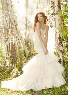 Bridal Gowns, Wedding Dresses by Jim Hjelm - Style jh8302