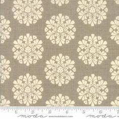 Madame Rouge Soleil Roche Grey Medallion by SistersandQuilters