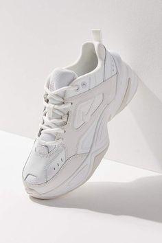 Nike tekno women's sneaker - white 10 at urban outfitters Mode Converse, Sneakers Fashion, Fashion Shoes, Swag Shoes, Golf Shoes, Chunky Shoes, Chunky Sneakers, Popular Shoes, Popular Sneakers