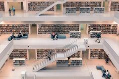 "I just posted ""Stadtbibliothek Stuttgart"" to Exposure"