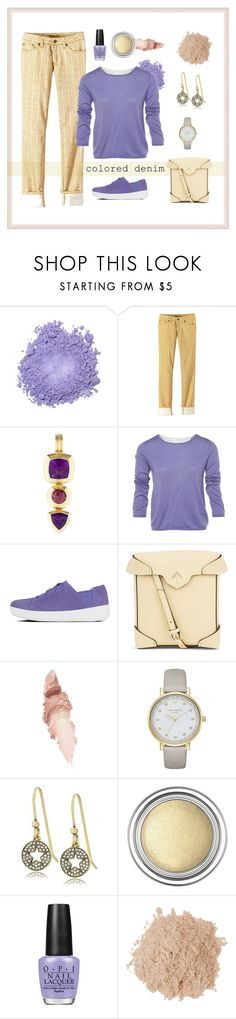 """Marigold Jeans"" by patricia-dimmick ❤ liked on Polyvore featuring prAna, David Yurman, Prada, FitFlop, MANU Atelier, Maybelline, Kate Spade, Marc Jacobs, Christian Dior and OPI"