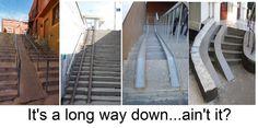 Long handicap ramps