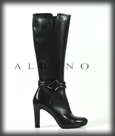 For this winter choose Albano's boots in black calf. Visit our stores and discover all collection