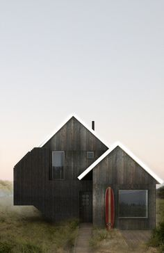 House No. 1, Surf House — T.W. Ryan Architecture