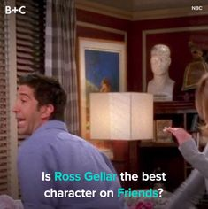Ross is definitely one of a kind. Friends Funny Moments, Friends Series, Friends Tv Show, Anime Music Videos, One Direction Videos, Cool Stickers, Tv Shows, Jokes, Lol