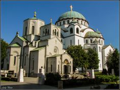 Byzantine Empire - Serbia - the Temple of Saint Sava - the biggest Orthodox church-building in the world