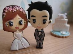 Happy wedding/Royal icing/Cookies