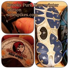 Sole Spikes make these shoes a force of nature! Spikes, Men's Style, Goats, Trail, Mountain, Pure Products, Mens Fashion, Running, Patterns