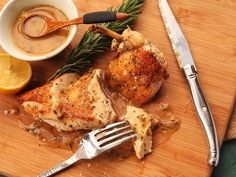 Pan-roasted chicken with pan sauce—like this one flavored with fresh rosemary and lemon—is the ultimate weeknight staple. It's inexpensive, delicious, and takes less than half an hour from start to finish.