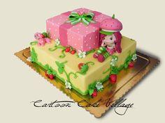 Strawberry Shortcake - by CartoonCakeVillage @ CakesDecor.com - cake decorating website
