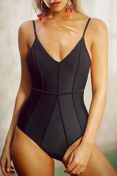 Best One-Piece Swimsuits – 53 Best One-Pieces for 2018 #beachoutfitswomen #swimwear