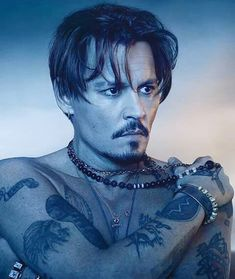 Johnny Depp For Dior Cologne Ad Campaign