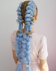 Hair Color Dark, Cool Hair Color, Pretty Hairstyles, Braided Hairstyles, Hair Reference, Hair Dye Colors, Aesthetic Hair, Creative Hairstyles, Crazy Hair