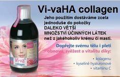 Vi-vaHA collagen nejen pro zralé ženy, které chtějí pečovat o kosti, klouby a také o svůj zevnějšek, chtějí si co nejdéle udržet pružnou a svěží pleť. Přírodní, lehce stravitelný doplněk stravy obsahuje rybí kolagen Peptan™, kyselinu hyaluronovou a vitamín C