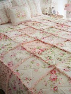 bettwäsche rosen mit reißverschluss 100% baumwoll-satin rosa 135 x ... - Shabby Schlafzimmer Rosa