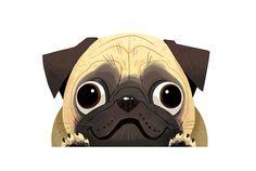 KIM DRAWS! - Pugs!