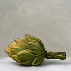 """Daily Paintworks - """"Artichoke"""" by Lauren Pretorius"""
