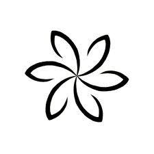 Easy To Draw Hawaiian Flowers paint night ideas Pinterest