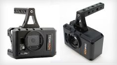 A Canon-Friendly Cage to Fix Your GoPro's Sad Battery Life #gopro