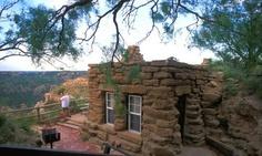 Palo Duro Canyon rock cabin