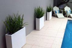 Slim planters a life to a narrow space