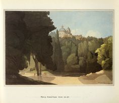 Francis Towne, Arricia, British (1739-1816), watercolor