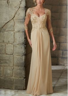 Shop Morilee's Beaded Lace Appliques on Net Gown. Evening Gowns and Mother of the Bride Dresses by Morilee. Beaded Evening Gown/Mother of the Bride Dress with Lace Appliques on Net Mob Dresses, Ball Dresses, Ball Gowns, Bridesmaid Dresses, Wedding Dresses, Bride Dresses, Party Dresses, Dress Party, Dresses 2016