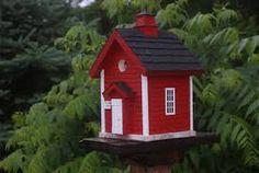 red bird houses - Sök på Google