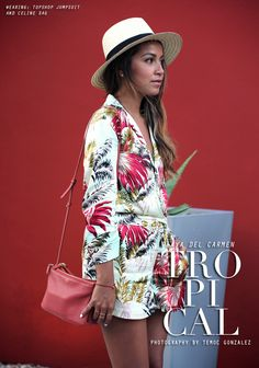 Tropical fashion for vacay