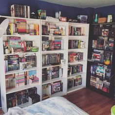 """bookeuphoria: """" Books & Cupcakes Book Photo Challenge ✿ May Day I Love Books, Books To Read, My Books, Bookshelf Inspiration, Dream Library, Home Libraries, Book Memes, Book Aesthetic, Shelfie"""