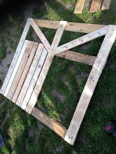 Gartentor selber bauen DIY Anleitung Schritt 2