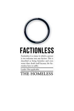 1000+ images about Factionless on Pinterest | Divergent ...