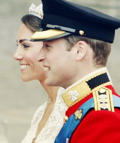 Will and Kate, such a beautifully striking couple, so much in love, hope nothing ever changes that.