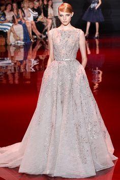 Elie Saab Fall 2013 Couture Fashion Show - Nastya Zhidkikh (WOMEN)