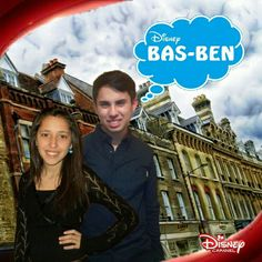 Bastián McQueen & Genesis Gonzales in Disney Channel's Show Bas-Ben