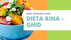Dieta Rina Meniu zilnic - Ziua de Vitamine - T's Secrets Nutrition Classes, Nutrition Program, Rina Diet, Complete Nutrition, Muscle Food, Le Diner, Calories, Food Preparation, Weight Gain
