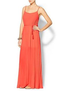 Ark & Co. Pleated Maxi Dress | Piperlime