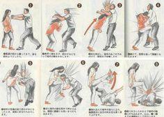 Şiddete karşıyız ama kendini savunmayı da bilmek lazım :)) - How to repel molester.