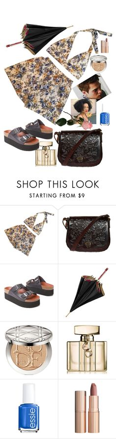 """""""The summer he thought I was beautiful"""" by elliewriter ❤ liked on Polyvore featuring Sixtyseven, Aspinal of London, Christian Dior, Gucci, Essie and Charlotte Tilbury"""