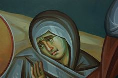 Iconographer Dimitris Maniatis – icoana Byzantine Icons, Byzantine Art, Orthodox Icons, Vignettes, Face, Painting, Fictional Characters, Painting Art, The Face