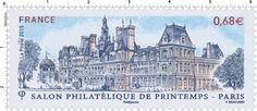 Timbre : 2015 Salon philatélique de printemps - Paris - Hôtel de Ville | WikiTimbres