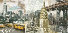Creative Sketchbook: Tyler Burke's Collaged Cityscapes!