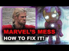 Marvel Civil War, Infinity War - Marvel Movies vs DC the REAL war?! - Be...