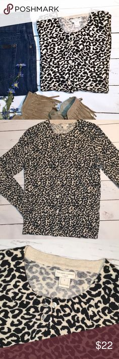 9b2af0df1ff2 J. Crew leopard print Caryn Cardigan, size S Excellent used condition. J.